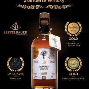 Whisky Single Malt GOLD Edition