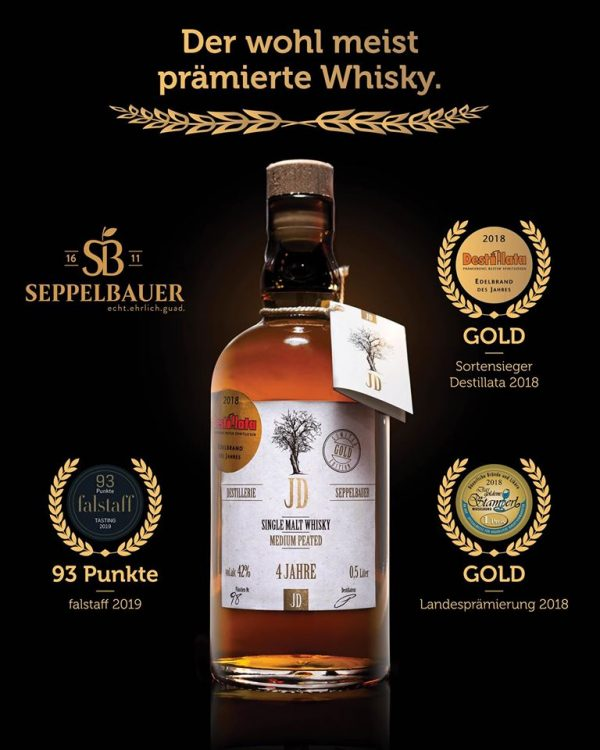 Whisky Single Malt GOLD Edition