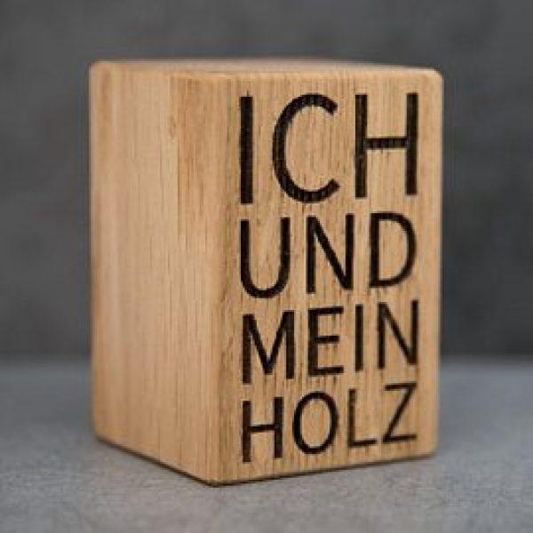 """Bieröffner """"Ich und mein Holz"""""""
