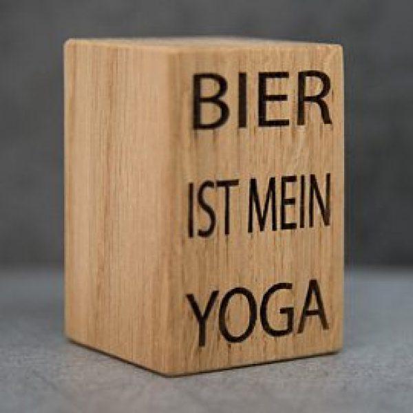 """Bieröffner """"Yoga"""""""