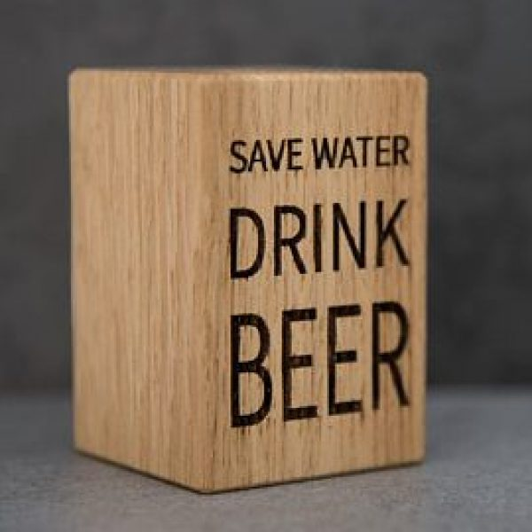 "Bieröffner ""Save Water..."""