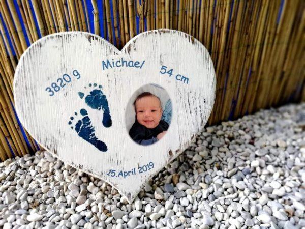 Taufherz / Geburtsherz klein