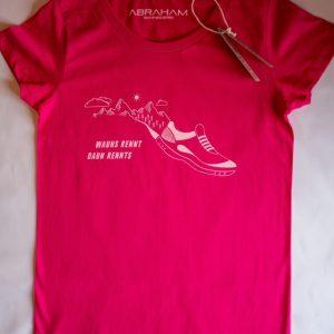 """T-Shirt """"Wauns rennt - Pink Damen"""""""