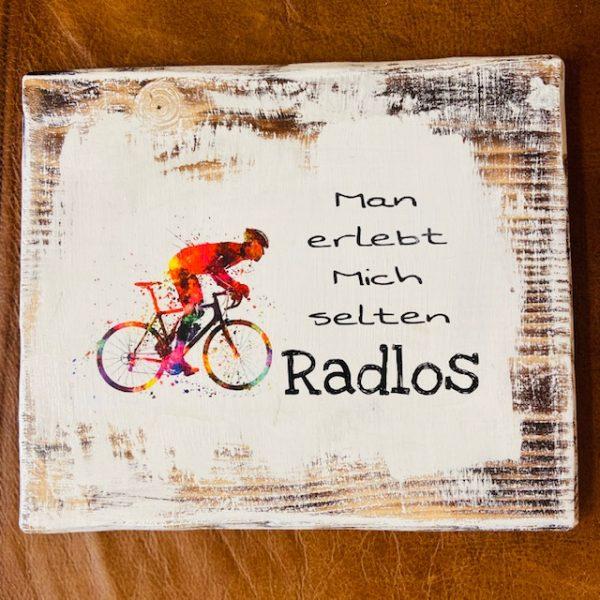 "Radspruch ""Radlos"" Large"