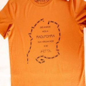 "T-Shirt ""Radlfoahra - Herren Rost """