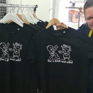 "T-Shirt ""Radlfoahra - Herren Petrol """