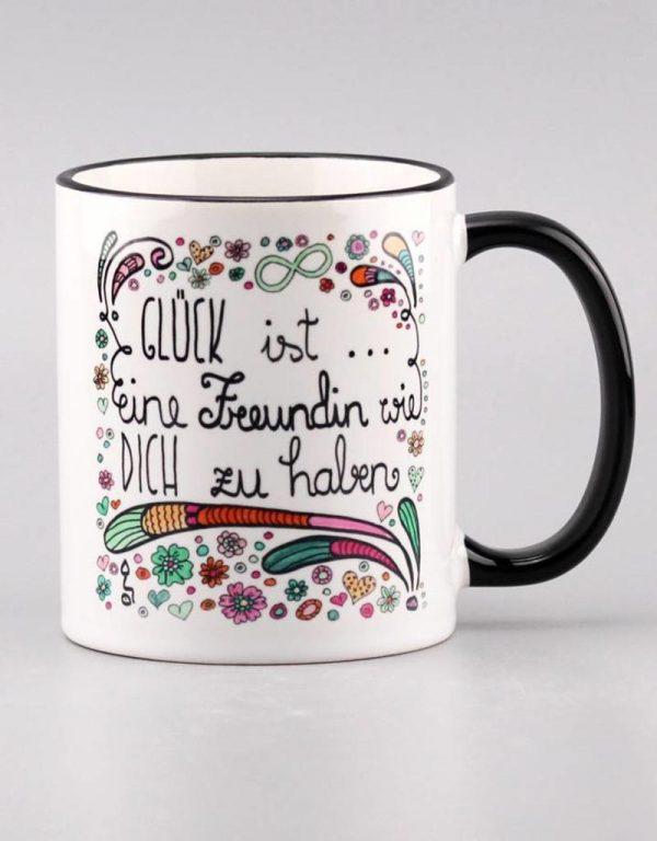"""Tasse """"Glück ist......Freundin"""""""