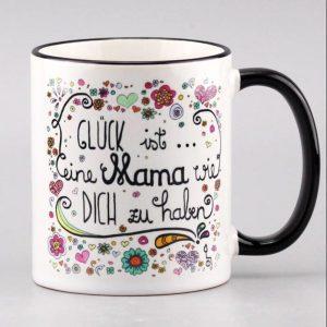 """Tasse """"Glück ist...eine Mama wie dich..."""""""