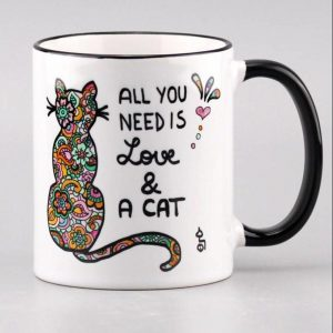 "Tasse ""All you need is......a cat"""