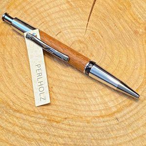 Holzkugelschreiber perlholz/gunmetal-chrom