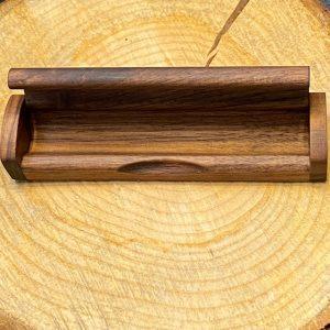 Holzbox für Schreibgeräte nuss