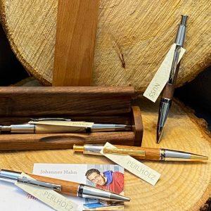 Holzbox für Schreibgeräte buche